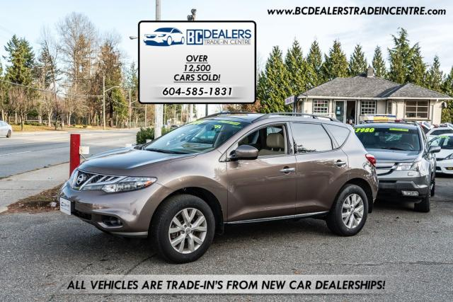 2011 Nissan Murano SL AWD, 154k, Leather, Sunroof, PWR Gate, Clean!