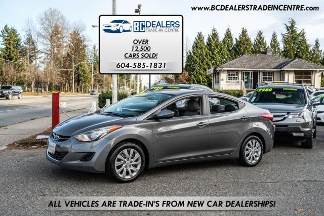 2011 Hyundai Elantra GL Sedan, Local, No Accidents, Bluetooth, Htd Seat
