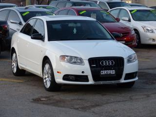 Used 2008 Audi A4 S-LINE,2.0T,QUATTRO,FULL LOADED,SHOWROOM CONDITION for sale in Mississauga, ON