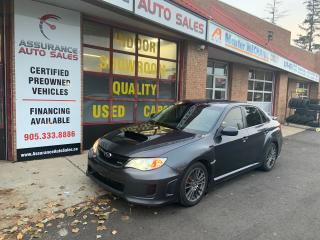 Used 2013 Subaru WRX w/Limited Pkg/Ontario Vehicle/ No Accidents for sale in Burlington, ON