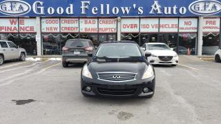 Used 2012 Infiniti G37 HEATED SEATS, SUNROOF, REARVIEW CAMERA, POWER SEAT for sale in Toronto, ON
