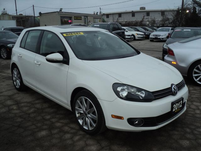 2012 Volkswagen Golf Highline LEATHER,SUN ROOF