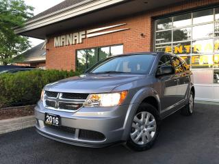 Used 2016 Dodge Journey FWD Value Pkg Push Start Automatic Low KM Certi* for sale in Concord, ON