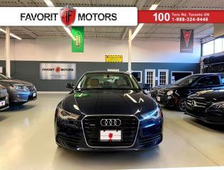 Used 2014 Audi A6 3.0 Progressiv *CERTIFIED!* |NAV|SUNROOF|QUATTRO| for sale in North York, ON