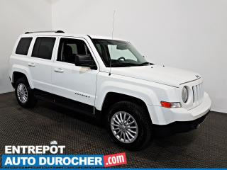 Used 2016 Jeep Patriot North AWD Automatique - A/C - Sièges Chauffants for sale in Laval, QC