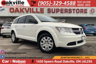 Used 2017 Dodge Journey CANADA VALUE PKG | B/U CAM | BLUETOOTH | CRUISE for sale in Oakville, ON