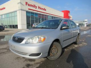 Used 2007 Toyota Corolla 4dr Sdn Auto CE   BEST VALUE   GAS SAVER!! for sale in Brampton, ON