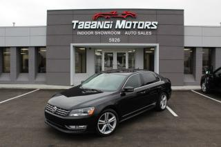 Used 2012 Volkswagen Passat NO ACCIDENTS I LEATHER I HEATED SEATS I SUNROOF I CRUISE for sale in Mississauga, ON