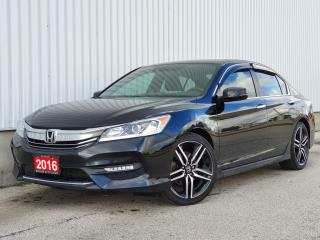 Used 2016 Honda Accord Sedan 4dr I4 CVT Sport w/Honda Sensing|ACCIDENT FREE| WE FINANCE for sale in Mississauga, ON