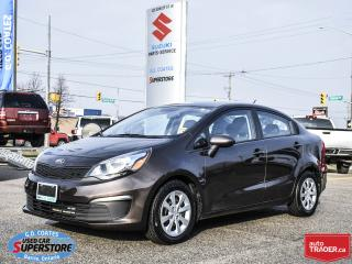 Used 2016 Kia Rio EX ~Bluetooth ~Power Windows + Locks for sale in Barrie, ON