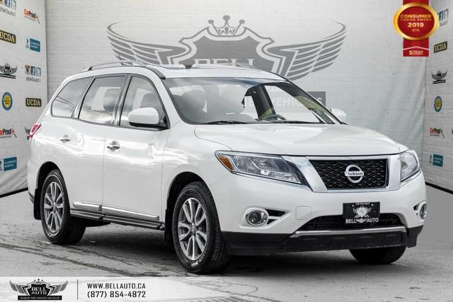 2015 Nissan Pathfinder SL, AWD, 7 PASS, V6, NAVI, 360 CAM, B.SPOT, SUNROOF