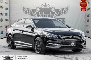 Used 2015 Hyundai Sonata 2.4L Sport Tech, NO ACCIDENT, NAVI, REAR CAM, B.SPOT, PANO ROOF for sale in Toronto, ON