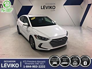 Used 2017 Hyundai Elantra GL **CARPLAY + CAMÉRA + VOLANT CHAUFFANT for sale in Lévis, QC