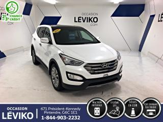 Used 2013 Hyundai Santa Fe Limited 2.0T AWD *NAVIGATION +CUIR+ CAMÉRA + TOIT* À VOIR for sale in Lévis, QC