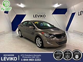Used 2013 Hyundai Elantra Limited  **NAVIGATION + CUIR + TOIT**** for sale in Lévis, QC