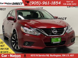 Used 2018 Nissan Altima SV| SUNROOF| HEATED SEATS & STEERING WHEEL| for sale in Burlington, ON