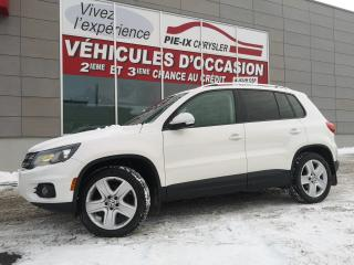 Used 2013 Volkswagen Tiguan COMFORTLINE+TOIT+MAGS+AWD for sale in Montréal, QC