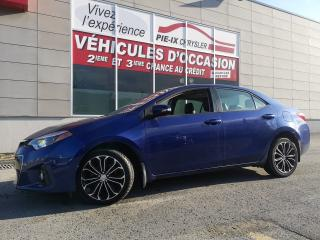 Used 2016 Toyota Corolla S+TOIT+MAGS+A/C+GR.ELEC Toyota Corolla Berline 4 portes CVT S for sale in Montréal, QC