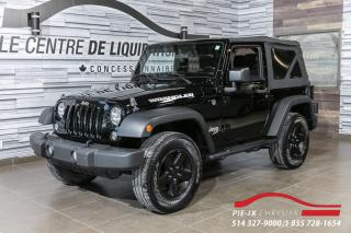 Used 2015 Jeep Wrangler Sport 4X4 for sale in Montréal, QC