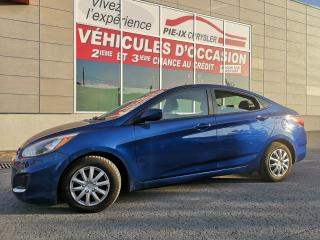 Used 2015 Hyundai Accent GL+A/C+GR.ELEC+BLUETOOTH Hyundai Accent Berline 4 portes, bo?te automatique, GL for sale in Montréal, QC