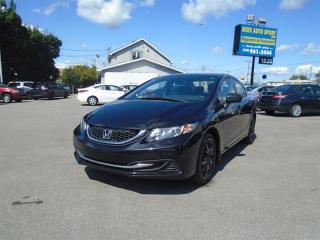 Used 2014 Honda Civic 4dr Man DX for sale in Terrebonne, QC