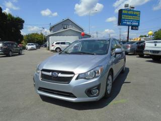 Used 2013 Subaru Impreza 4DR SDN CVT 2.0I for sale in Terrebonne, QC