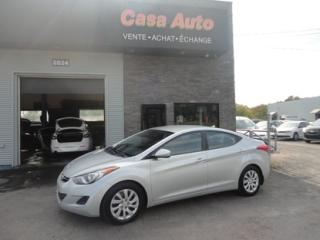 Used 2013 Hyundai Elantra GL for sale in Lévis, QC