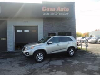 Used 2012 Kia Sorento LX for sale in Lévis, QC