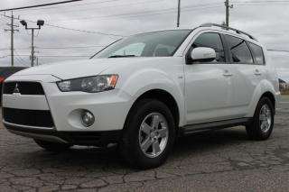 Used 2012 Mitsubishi Outlander Awd*7 passagers*cam recul for sale in Ste-Sophie, QC