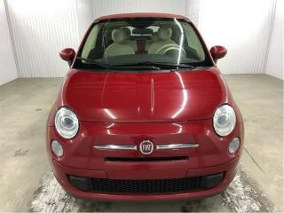 Used 2014 Fiat 500 Pop A/c Convertible for sale in St-Eustache, QC