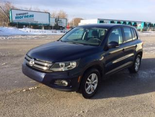 Used 2012 Volkswagen Tiguan 4 portes Trendline 4Motion, boîte automa for sale in Quebec, QC