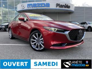 Used 2019 Mazda MAZDA3 GT AUTO TOIT CUIR BOSE NAV APPLE CARPLAY for sale in Mascouche, QC