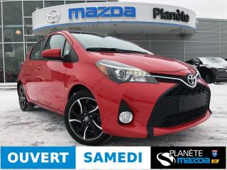 Used 2017 Toyota Yaris SE AUTO AIR MAGS FOGS for sale in Mascouche, QC