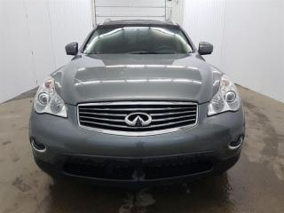 Used 2014 Infiniti QX50 AWD GPS 360 Cuir Toit Ouvrant MAGS for sale in St-Eustache, QC