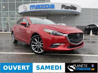 Used 2018 Mazda MAZDA3 GT TOIT CUIR BOSE NAV MAGS CRUISE for sale in Mascouche, QC