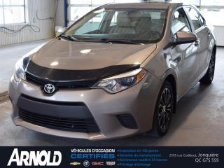 Used 2014 Toyota Corolla CE for sale in Jonquière, QC