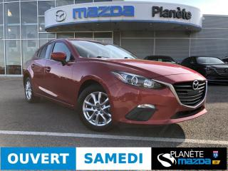 Used 2015 Mazda MAZDA3 Sport GS AUTO AIR MAGS CRUISE BLUETOOTH USB for sale in Mascouche, QC
