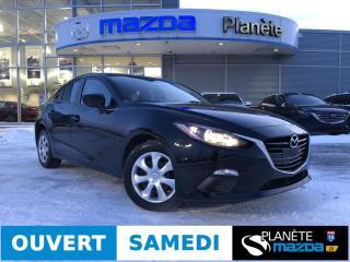 Used 2016 Mazda MAZDA3 GX AUTO AIR CRUISE BLUETOOTH for sale in Mascouche, QC