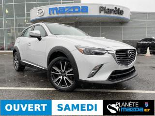 Used 2016 Mazda CX-3 GT AWD TOIT AIR MAGS CUIR NAV BOSE for sale in Mascouche, QC