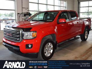 Used 2016 GMC Canyon Crew Cab 4WD SLE for sale in Jonquière, QC