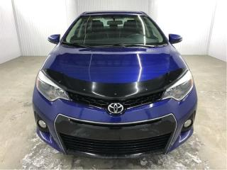 Used 2014 Toyota Corolla S Cuir/tissus A/c for sale in St-Eustache, QC