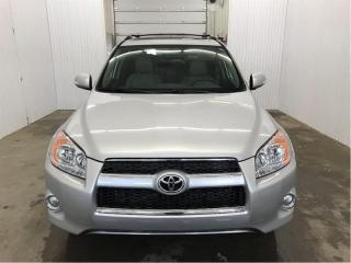 Used 2012 Toyota RAV4 Limited AWD GPS Cuir Toit Ouvrant MAGS for sale in St-Eustache, QC