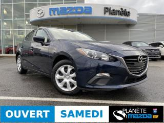 Used 2016 Mazda MAZDA3 GX AUTO AIR CRUISE DÉMARREUR BLUETOOTH for sale in Mascouche, QC