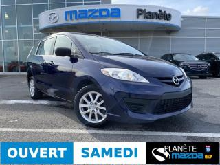 Used 2010 Mazda MAZDA5 GS AUTO AIR MAGS GR ÉLECTRIQUE for sale in Mascouche, QC