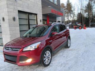 Used 2014 Ford Escape TITANIUM, AWD, NAV, CUIR, TOIT for sale in St-Eustache, QC