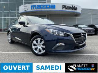Used 2016 Mazda MAZDA3 GX AIR CRUISE CAMÉRA DE RECUL BLUETOOTH for sale in Mascouche, QC