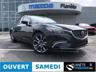 Used 2017 Mazda MAZDA6 GT AUTO TOIT CUIR BOSE MAGS NAV for sale in Mascouche, QC