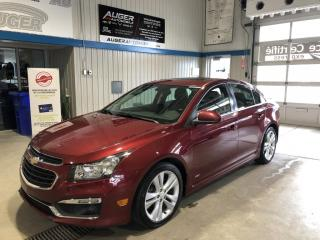 Used 2015 Chevrolet Cruze RS CUIR for sale in Nicolet, QC