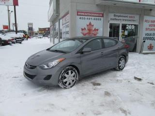 Used 2013 Hyundai Elantra GL,AUTOMATIQUE,BLUETOOTH,CRUISE,GRP ELECT for sale in St-Eustache, QC