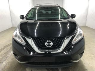 Used 2016 Nissan Murano SL AWD GPS 360 Cuir Toit Ouvrant MAGS for sale in St-Eustache, QC